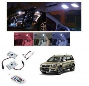 Skoda Yeti Car Led Car Roof Light Remote Control Car Accessories