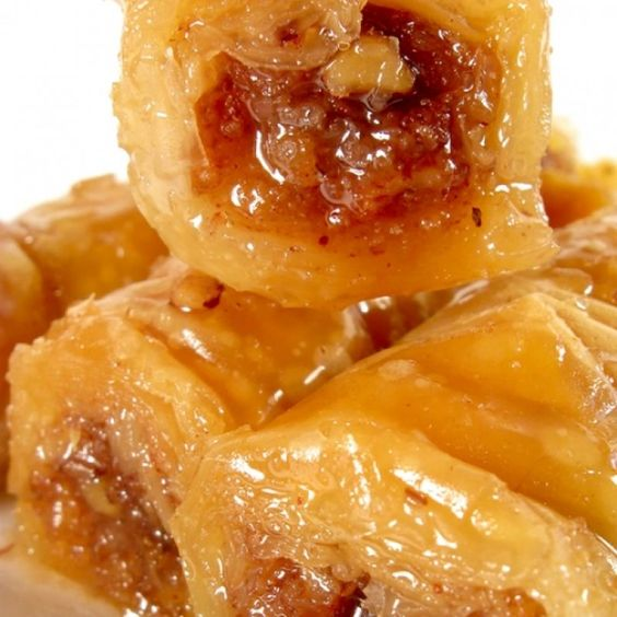Baklava rolls recipe easy