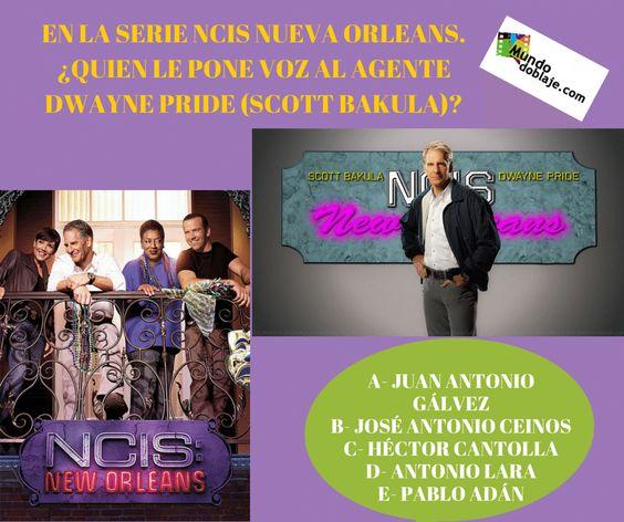 Hoy la cosa va de la serie NCIS NUEVA ORLEANS y de su protagonista masculino, el actor Scott Bakula.
