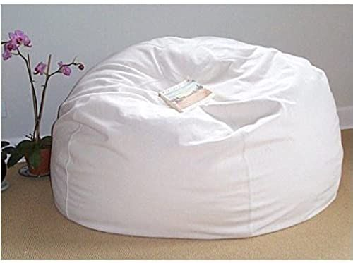 New Classic Beanbag Chair Cotton Hemp Online Shopping