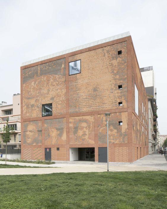Archivgebäude in Mailand von baukuh / Casa della Memoria - Architektur und Architekten - News / Meldungen / Nachrichten - BauNetz.de