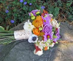 one option. this being the big pop of color in my rustic chic wedd.