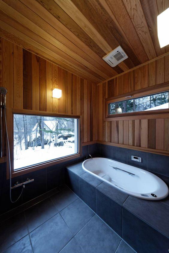 Umwerfende Hütte mit coolem Charme #Badezimmer #homify