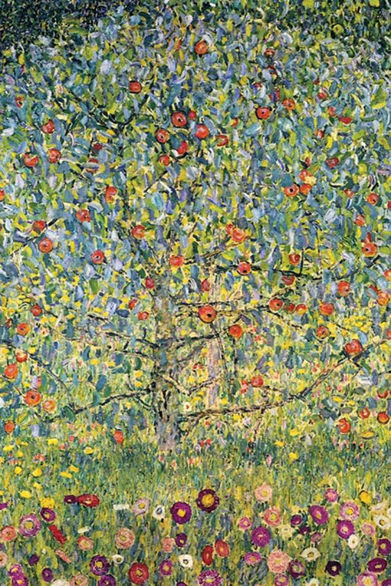 Apple Tree, by Gustav Klimt: