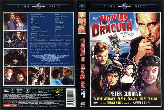 1960  Las Novias De Dracula -Carátula DvD
