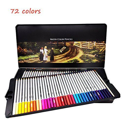 Deli Watercolor Pencils Premium Set Of Fine Art Water Color