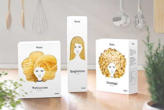 http://www.wtf-ivikivi.de/creative-packaging-design-turns-pasta-into-hair/