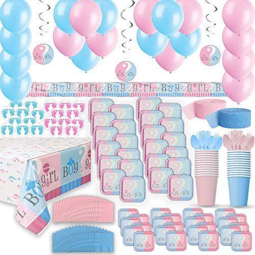 Baby Shower Balloon Decoration Ideas Best Of Gender Reveal Amazon Baby Boy Shower