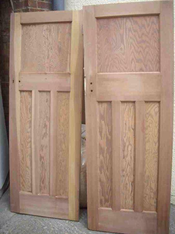 wooden reclaimed 1920s internal doors kooka s hut