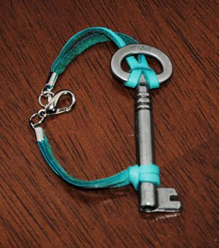 Skeleton Key Bracelet: