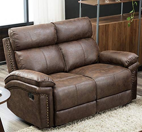 Lounge Chair Classic Leather Recliner Sofa Living Room Partition