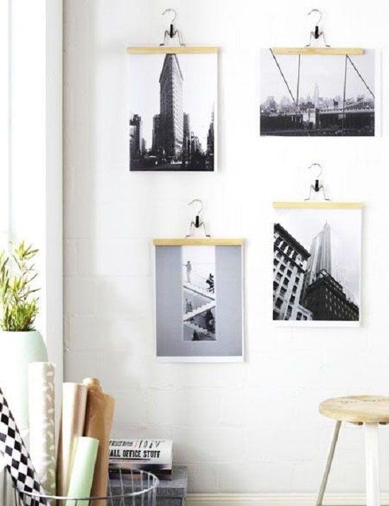 25 ideas para decorar con fotos de forma genial. #decorar #decoración #fotos #creatividad #diy
