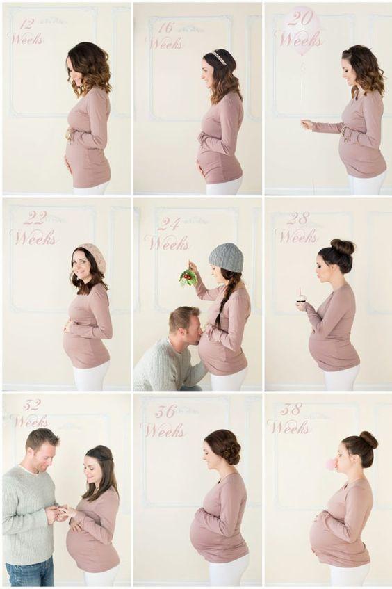 Впервые мама | фото беременности по неделям