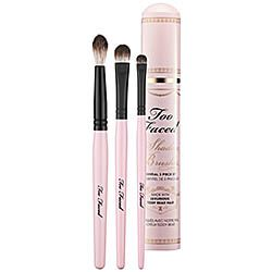 Too Faced - Shadow Brushes Essential 3 Piece Set  #sephora cruelty free yay