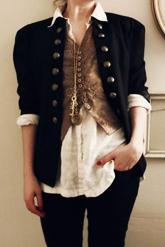 """zevrantiva: """" An outfit to remember. """""""