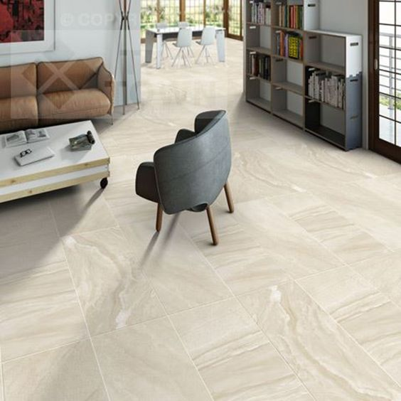Morley Crema Porcelain Floor Tiles supplied by Tile Town. Discounted Natural Stone Effect Floor Tile