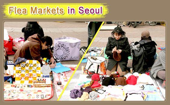 Chợ trời ở Seoul Ảnh: Visitkorea.org