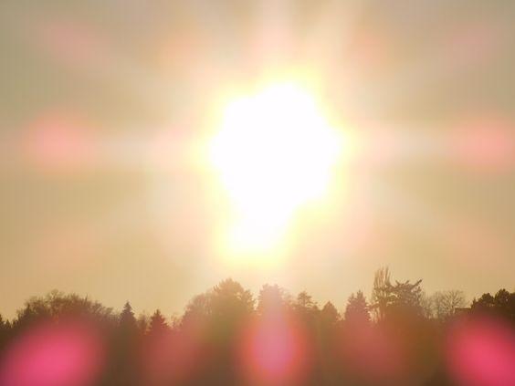 Die Sonne ist viel heller als früher ...