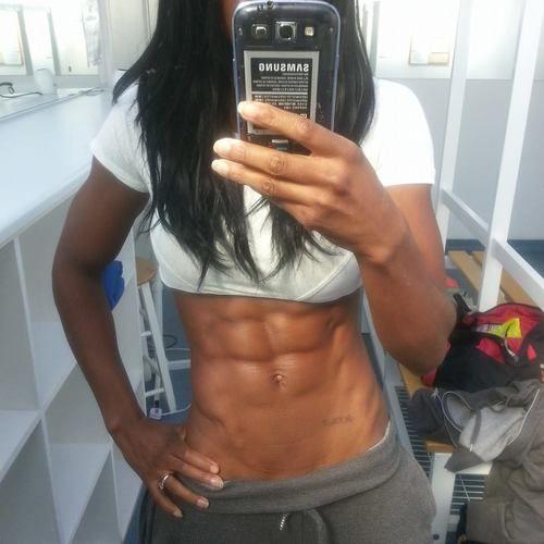 Nyisha Jordan: competition/bootcamp, workout | Female Ebony Muscle ...