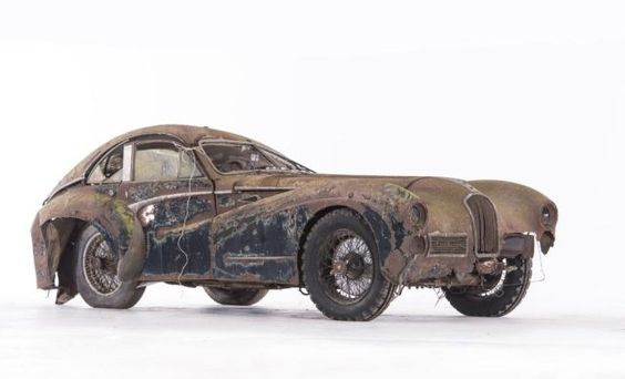 Discovered In A French Barn This Corroding Classic Car Sold For Almost 2 Million