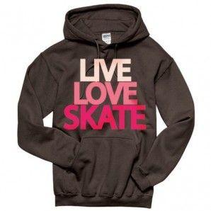 Live Love Skate Hoodie Sweatshirt
