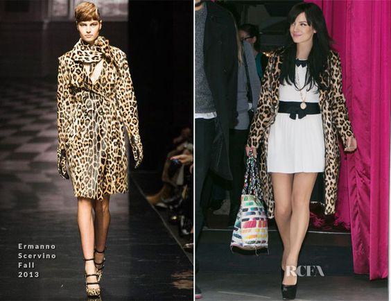 Lily Allen In Chanel and Ermanno Scervino – Out In Paris