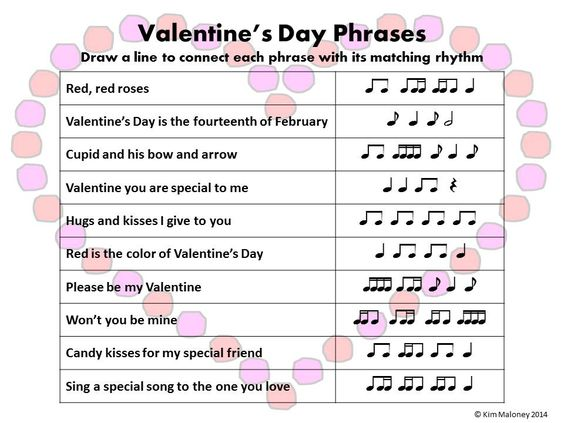 music quiz valentines day answers