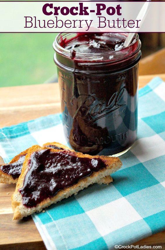 Crock-Pot Blueberry Butter