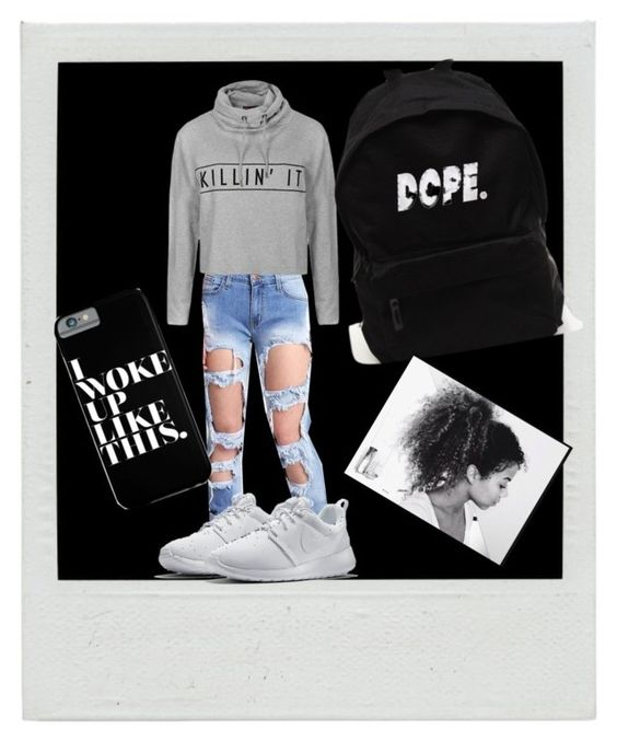 """First day of school"" by yasrichey ❤ liked on Polyvore"