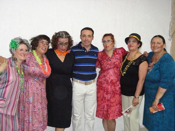 En El Perdido : MUJERES JUBILOSAS. Grupo de  Teatro Renacer. Nota ...