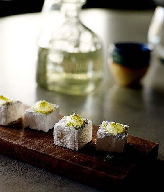 Tequila Slammer marshmallows recipe Gourmet Traveller !!-