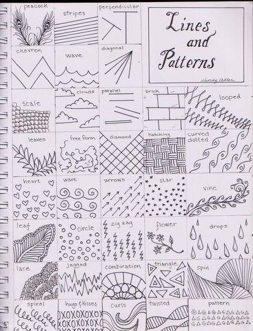Worksheet Line Designs Worksheet charts patterns and line on pinterest different lines designs i would create a template for the students change some