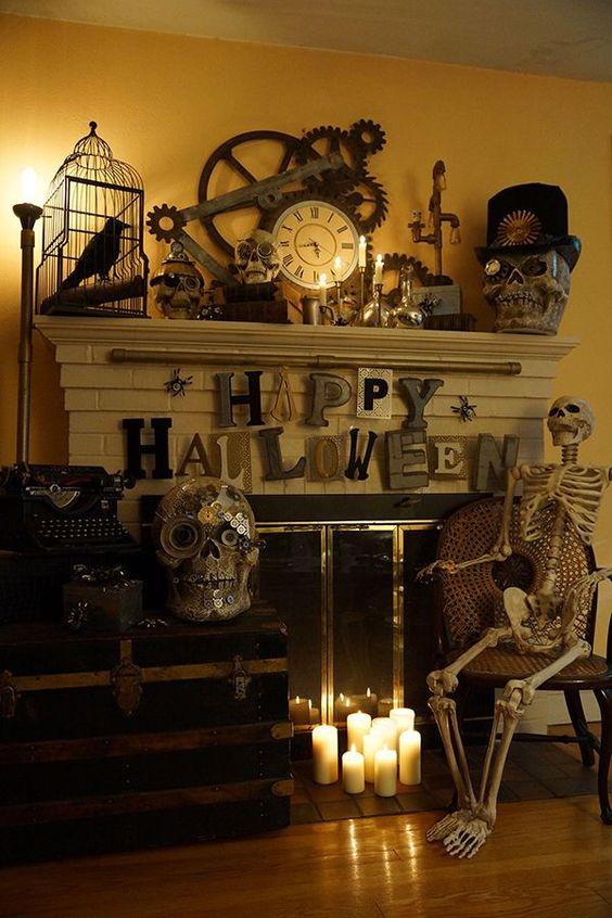 Pinterest the world s catalog of ideas - Interesting diy halloween wreaths home ...