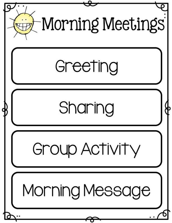 Morning meetings are a great, positive way to start out your day.  Grab this freebie for your morning meeting time.