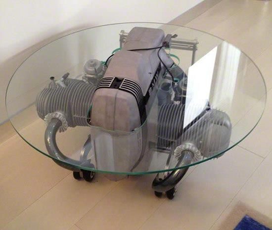 bmw boxer engine table house decorations pinterest bmw boxer and engine. Black Bedroom Furniture Sets. Home Design Ideas
