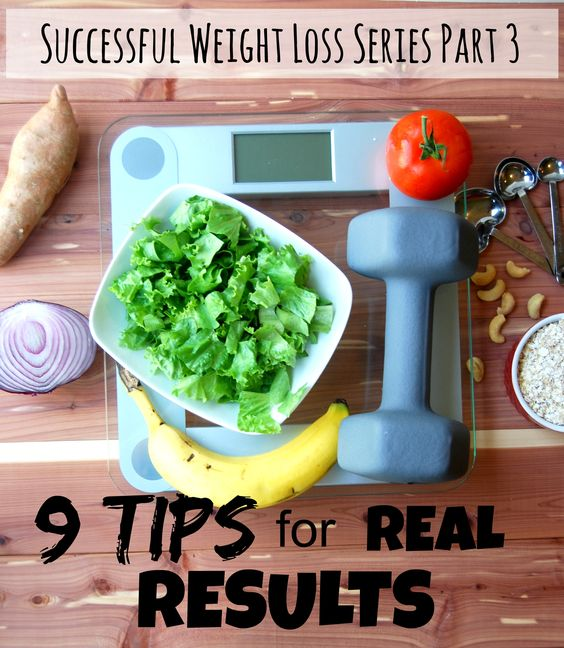 9 Tips for successful, lifelong weight loss