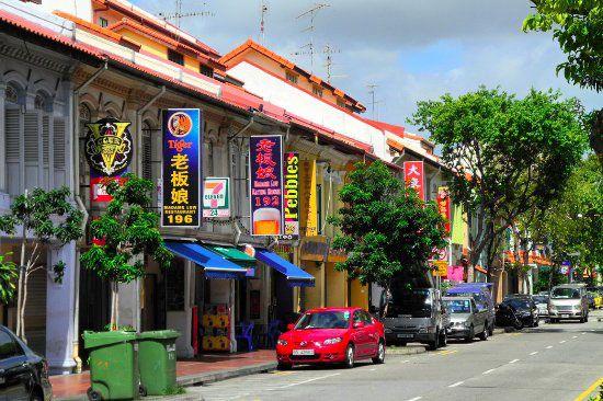 Joo Chiat thuộc khu Katong nơi văn hóa Peranakan tồn tại.