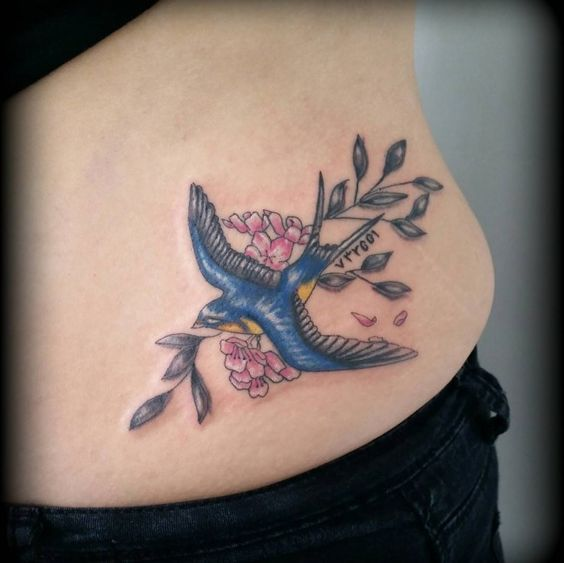 150 Fascinating Swallow Tattoos And Their Meanings cool