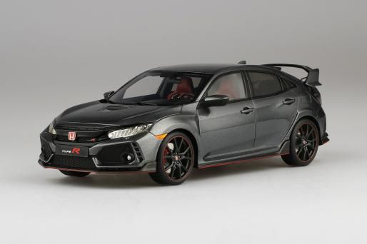 1 18 Model Honda Civic Type R Polished Metal Metallic Lhd Honda Civic Type R Honda Civic Honda