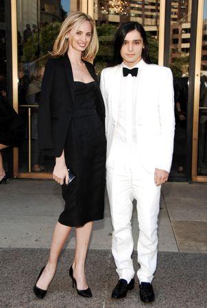 Lauren Santo Domingo and Olivier Theyskens