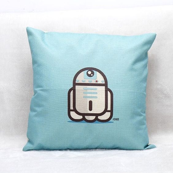 Star Wars R2 D2 Cushion Cover by QuirkyHomeUK on Etsy