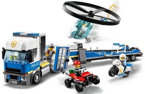 Lego City Police Helicopter Transport 60244 6288820 In 2020 Lego City Police Helicopter Lego City Police Lego City