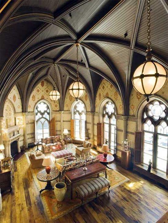 5 Churches Transformed Into Homes | Churches, Church Conversions And Barn