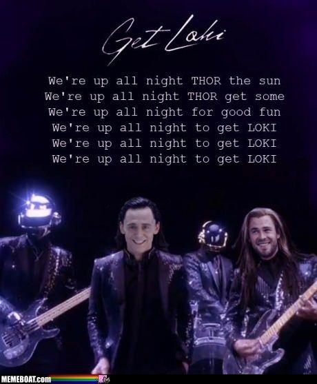 we're up all night to get loki - Google zoeken