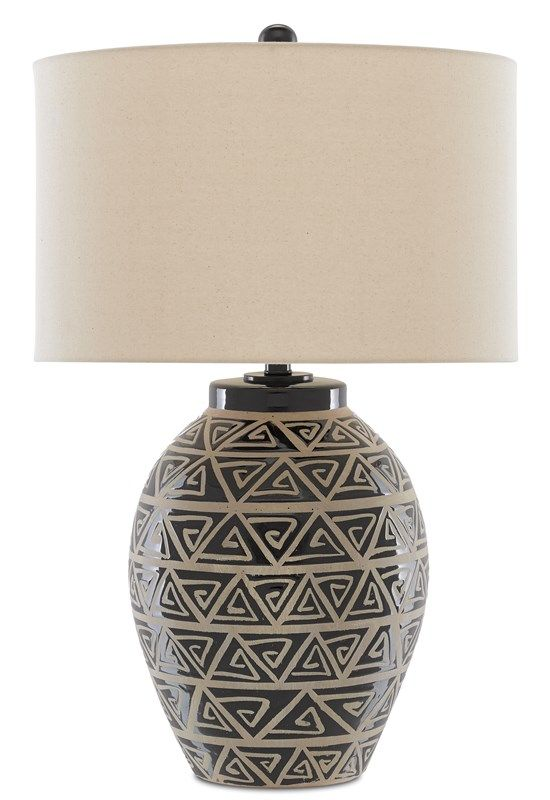 Himba Table Lamp Currey And Company In 2020 Lamp Table Lamp Light Table