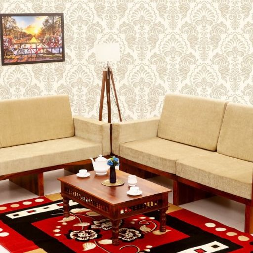 3 Seater Wooden Sofa In Bangalore Sofa Set Wooden Sofa Furniture
