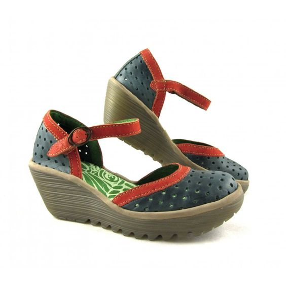 Women's Fly London Ying Perf Wedge Sandals | Buy Fly London Ying online at rubyshoesday