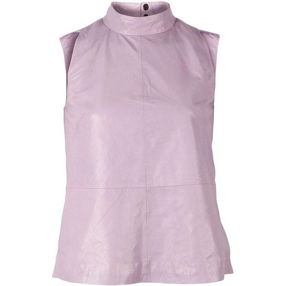 Viparo Womens Lavender Bryce Top ($169) ❤ liked on Polyvore featuring tops, pink top, relaxed fit tops and lavender top