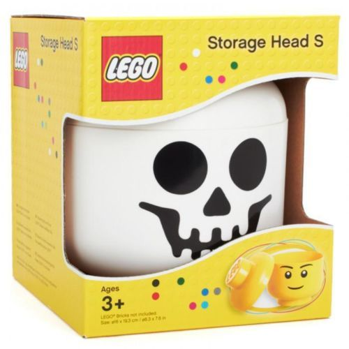 Lego Skeleton Storage Head Small Brand New In Box Free P Boys Skeletons And