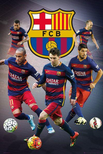 Barcelona - Star Players (24x36) - SPT13501
